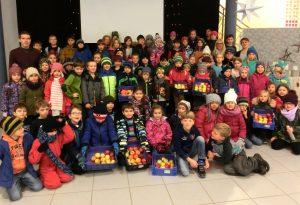 Prefag unterstützt Schulobstprogramm